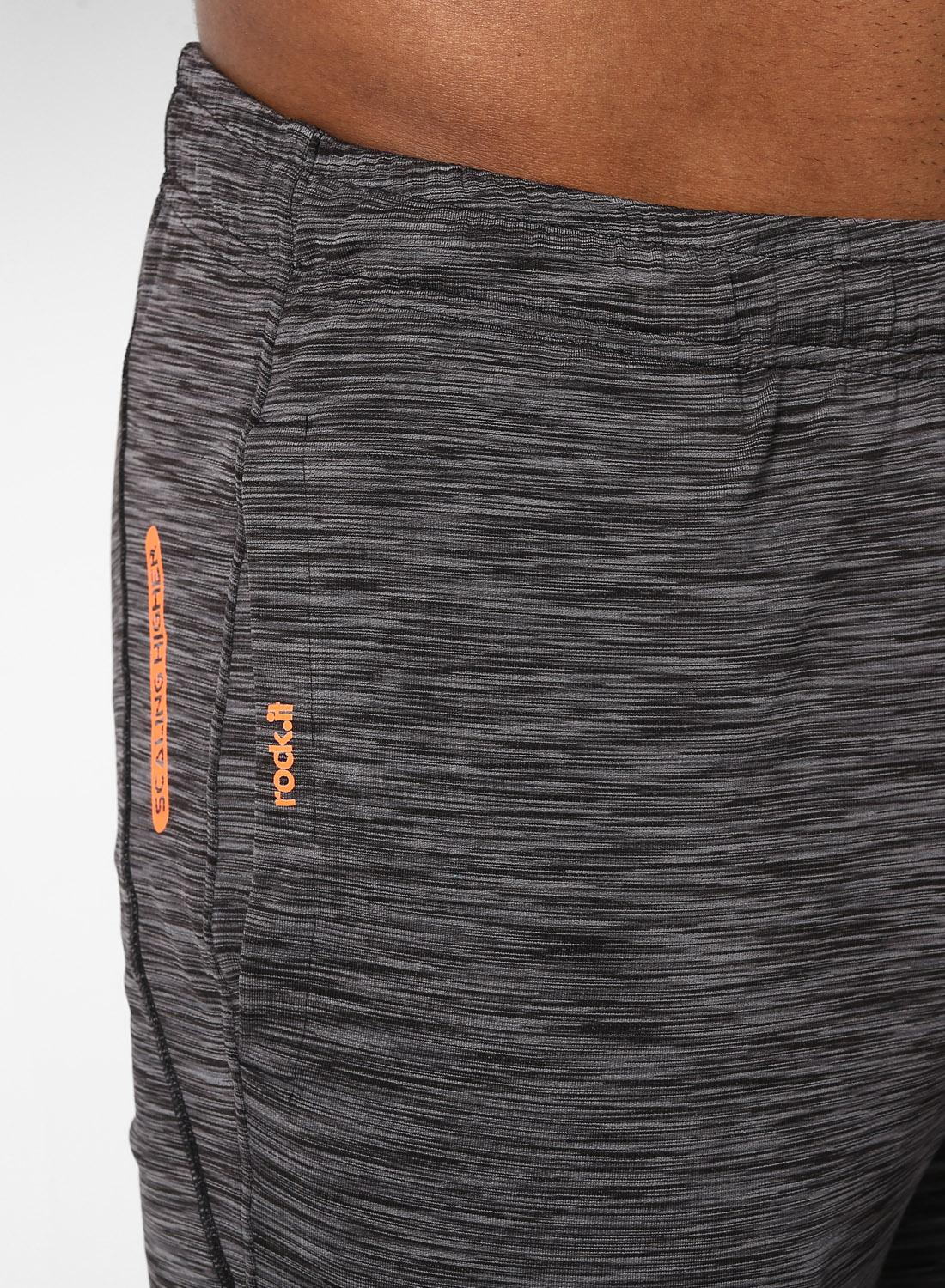 Buy Rock It Dark Grey Printed Swift Dri Lower Online In India Chic Original Hovering Black Product Image Hovered